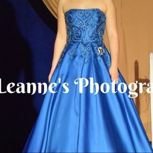 Morrell Maxie prom/ pageant dress!